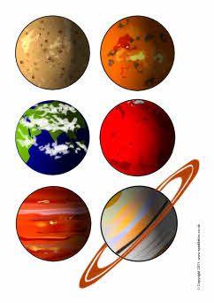 Planetes per imprimir.