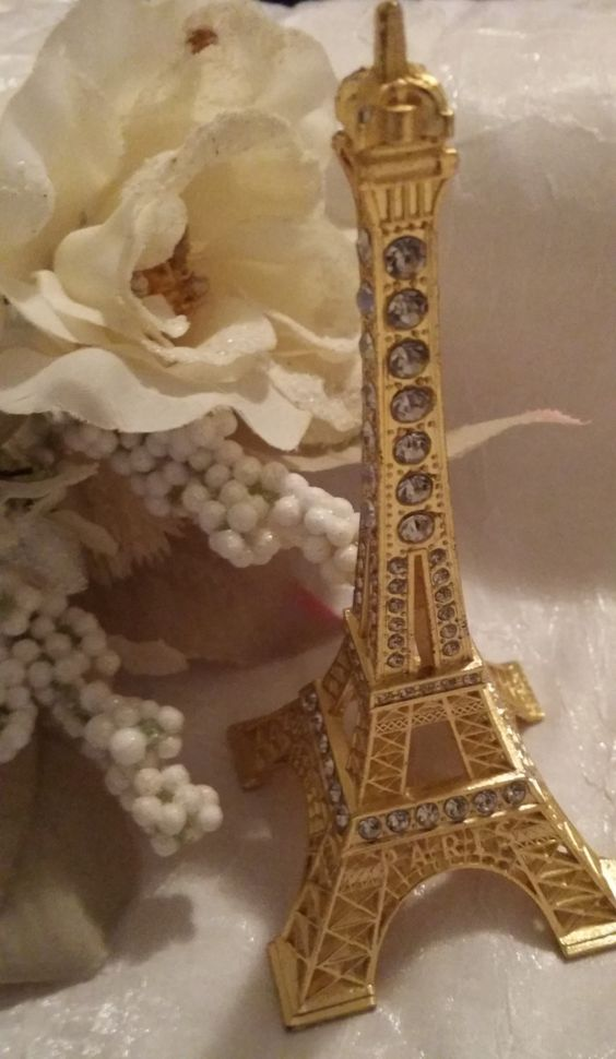 Rhinestone Eiffel Tower Eiffel Tower Rhinestone Cake Topper Eiffel Wedding Decoration Eiffel