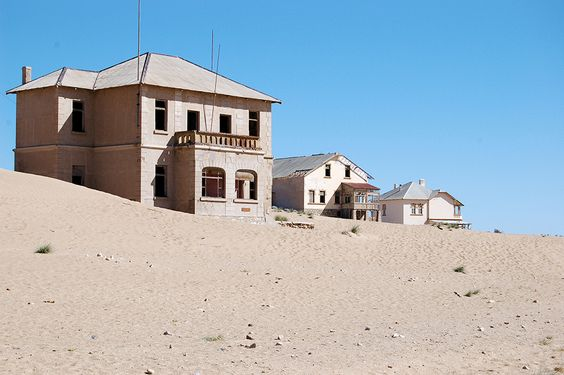 Kolmanskop Namíbia