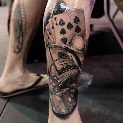 125 Best Leg Tattoos For Men Cool Ideas Designs 2020 Guide Best Leg Tattoos Leg Tattoo Men Money Tattoo