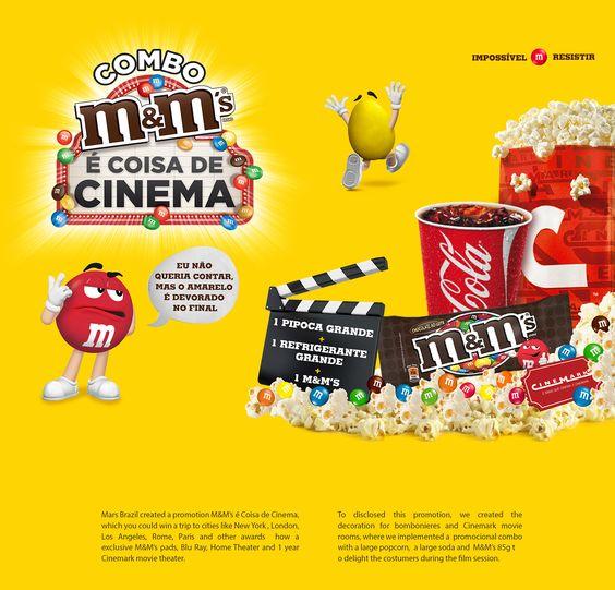 M&M'S É COISA DE CINEMA on Behance