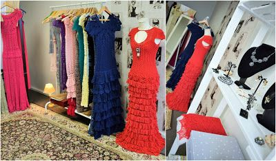Crochet&knit dresses atelier. Vivrut Designs. Instagram: rutavivrut