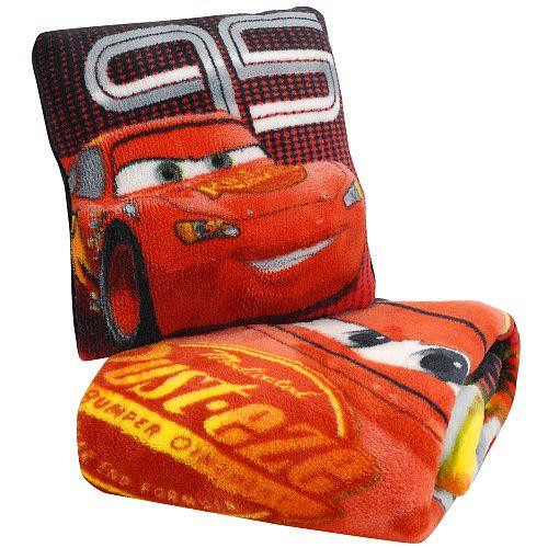 keith Disney Pixar's Cars The Movie Micro Plush Pillow & Blanket Set  - Northwest Company -  Blankets & Pillows - FAO Schwarz®