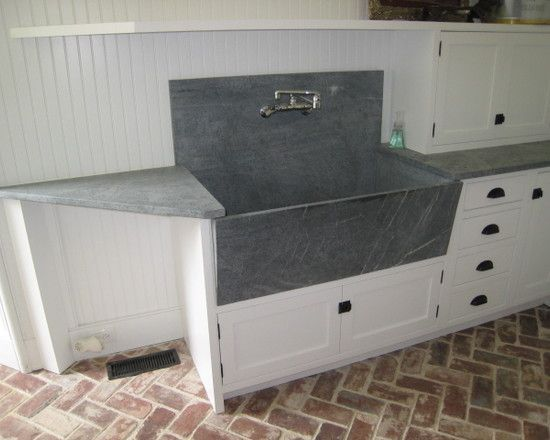 Laundry Room Soapstone Sink Design Pictures Remodel Decor And