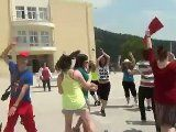 """This lipdub was created by the students from the 4th Vocational High School of Kavala (Kavala, Greece). It was shot on may 10th 2012 with 80 students, using the songs """"Beggin you"""" by Madcon (2008) and """"Club can't handle me"""" by Flo rida ft. David Guetta (2010). The cost of this movie production was 0.00 euros.    http://www.dailymotion.com/video/xr78tx_4y-yyy-y-yyyy-yy_news?start=16"""