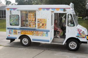 Mom, can I have some money? I hear the ice cream man coming...