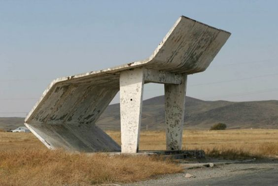 Soviet Bus Stops - Wall to Watch