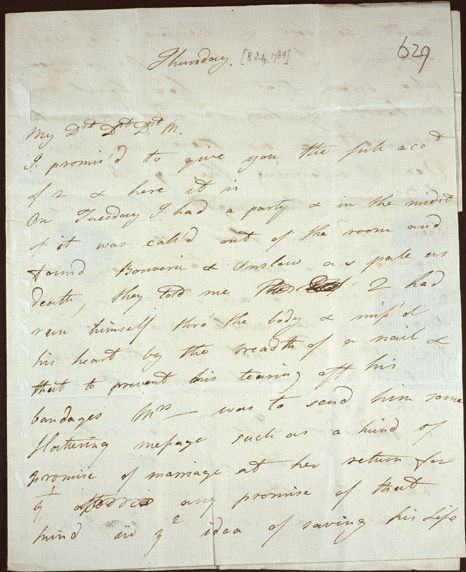 Two Letters From Georgiana Duchess Of Devonshire To Lady