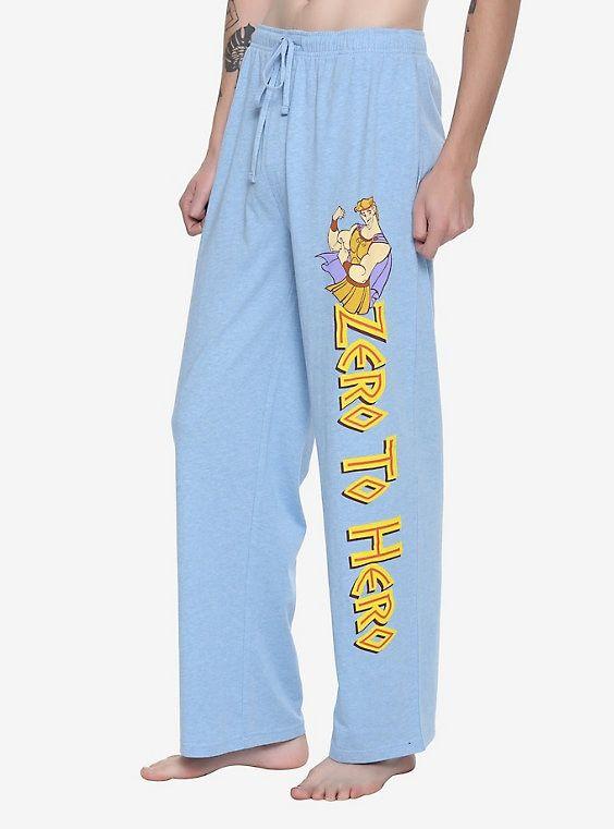 New Men/'s Disney The Little Mermaid Ariel Seashell Hologram Pajama Lounge Pants