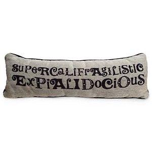 Your WDW Store - Disney Throw Pillow - Mary Poppins Pillow - ''Supercalifragilisticexpialidocious''