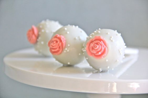 Make roses separately w/mold