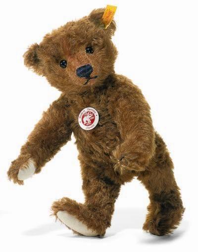 Steiff Classic 1905 Teddy Bear, Rust 004803 #Steiff
