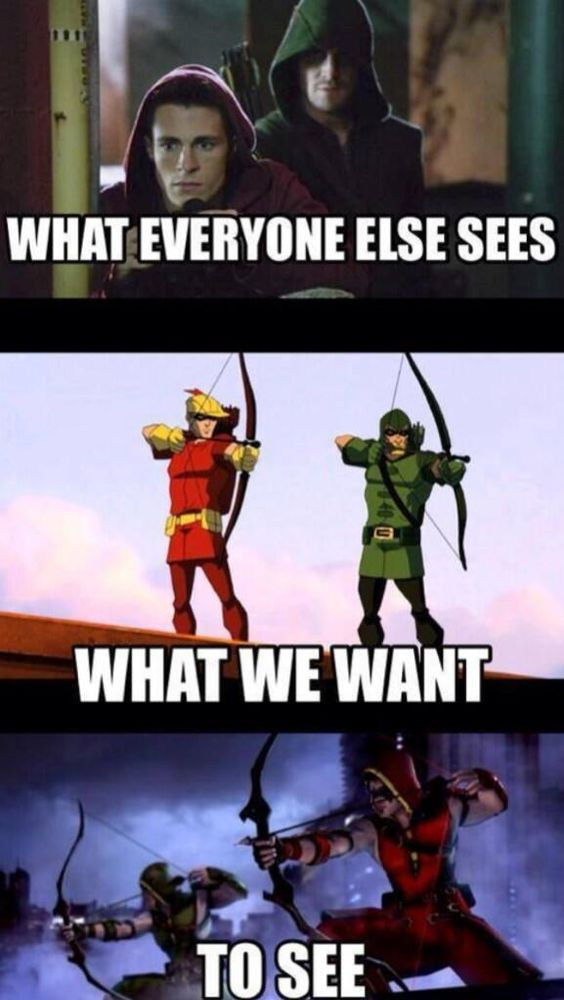 Yes we all want Roy to become speedy or red arrow he need ...