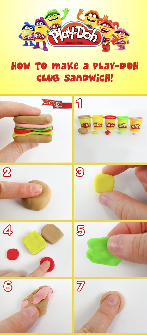 Pinterest the world s catalog of ideas for Play doh cuisine