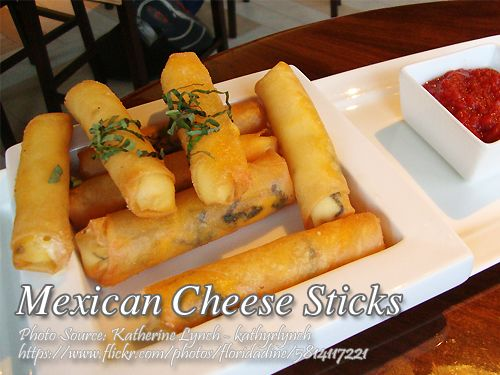 Mexican Cheese Sticks Panlasang Pinoy Meaty Recipes Recipe Cheese Sticks Mexican Cheese Recipes