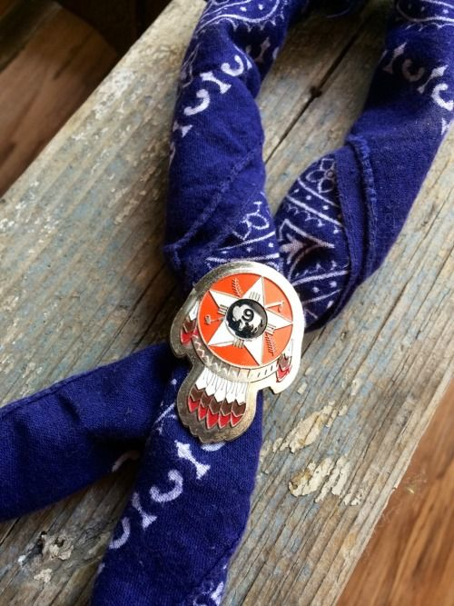 bandana and native american ring: