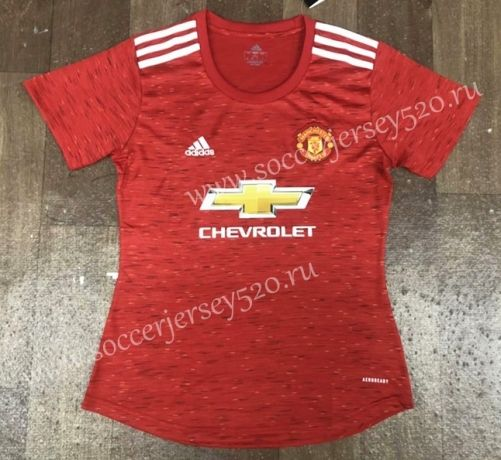 2020 2021 Manchester United Home Red Thailand Women Soccer Jersey Aaa In 2020 Soccer Jersey Womens Soccer Manchester United