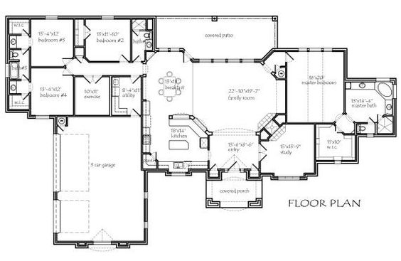 3250 square foot air conditioning 4 bedroom study with see thru fireplace exercise room split bedrooms large breakfast area with area for hutc