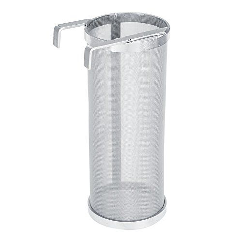 Stainless Steel Beer Brewing Filter 300 Micron Homemade Brew Beer Hop Mesh Filter Strainer With Hook Kettle Brew Fi Home Brewing Beer Home Brewing Beer Brewing