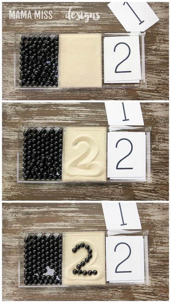 Aprender los números con el método Montessori …: