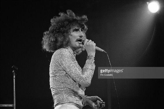 Foto di attualità : David Byron from Uriah Heep performs live on...