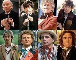 the first 8 Doctors