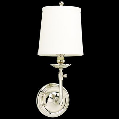Logan Wall Sconce (Polished Nickel) - OPEN BOX RETURN by Hudson Valley Lighting
