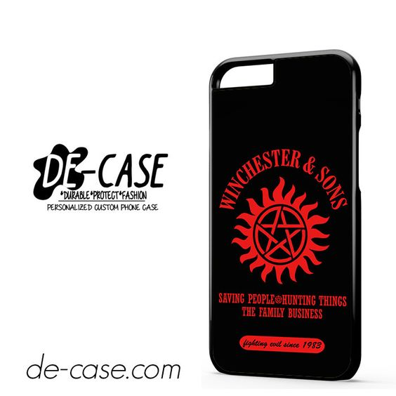 Supernatural Winchester Sons DEAL-10384 Apple Phonecase Cover For Iphone 6 / 6S