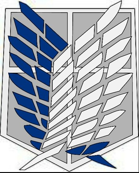 The Survey Corps Logo (wings Of Freedom)