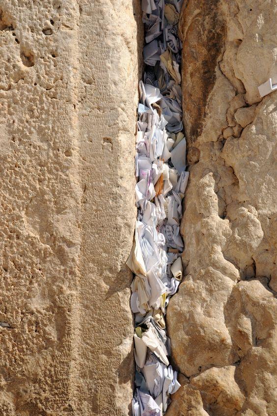 western wall of prayer