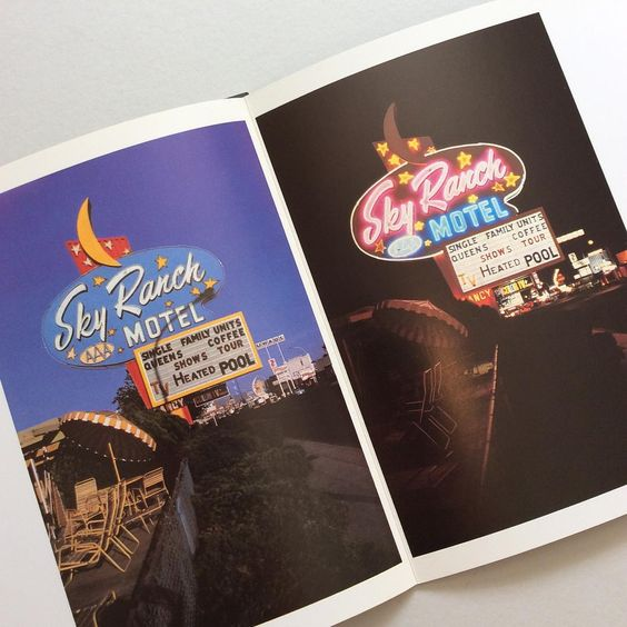 Detail of 'American Neon Signs by Day & Night' available now on Counter-Print.co.uk