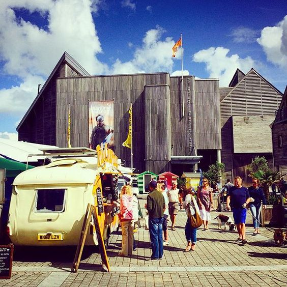 Last day of #britishstreetfoodfestival in #eventssquare #falmouth