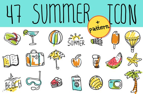 Summer icon:
