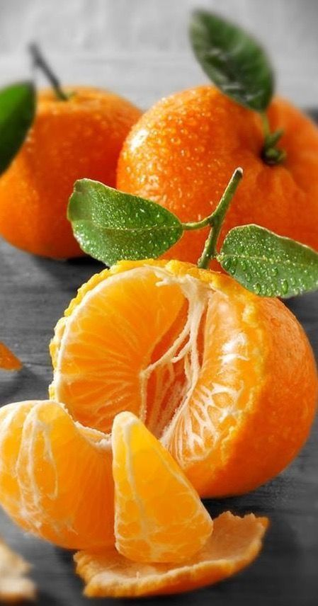 Fresh Tangerine's #fruit #tangerine #orange #citrus