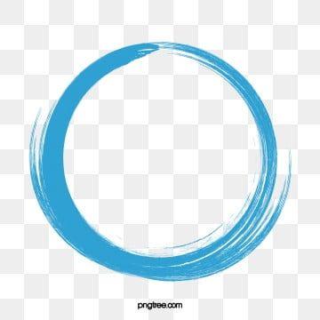 Blue Watercolor Dashed Circle Creative Png And Psd Circulo Das Cores Fundo Para Banner Aquarela