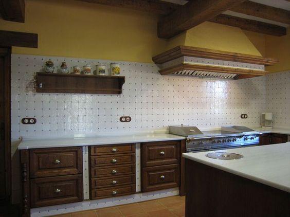 Diseño de #cocina diseño de cocinas en titulcia,cocina rustica 2 ...
