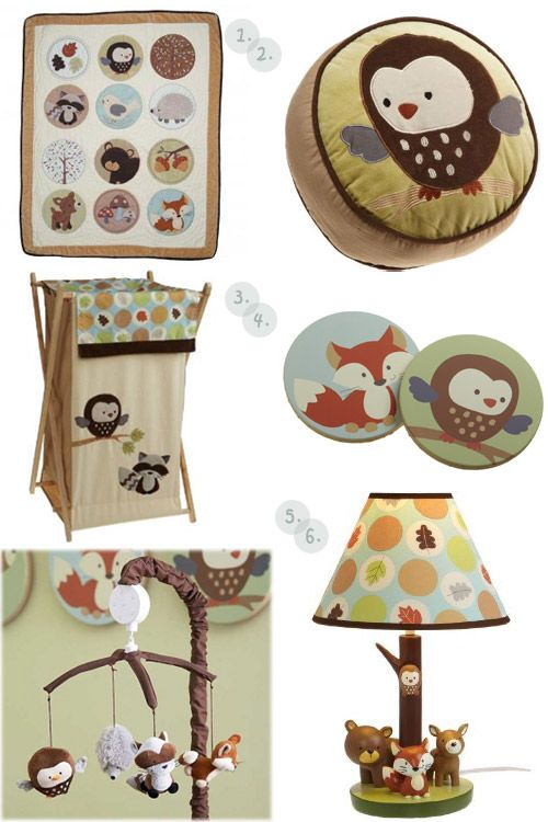 I wish that these had been around when my kids were babies....My Owl Barn: Carter's Forest Friends
