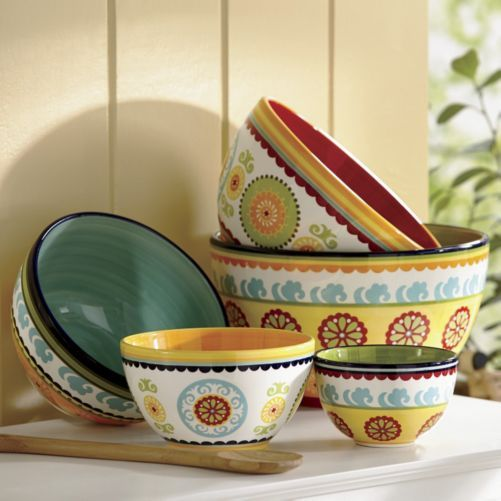Set of 5 Mixing Bowls from Ginny's ®