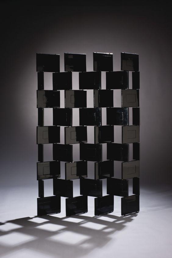 paravent années 30, paravent art déco, Eilen Gray, paravent briques, 1922_1925