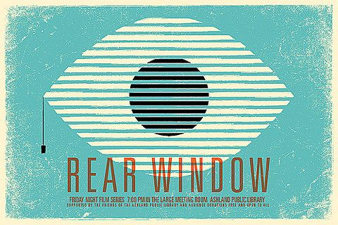 FANTASTIC Rear Window poster.