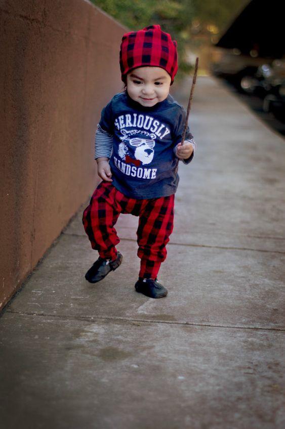 infant black pants