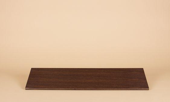 Regalboden Smoked Oak