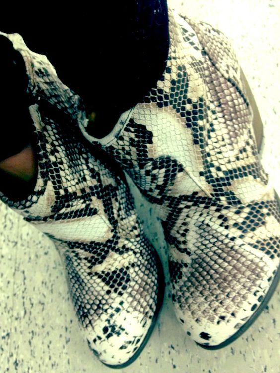 + snakeskin +