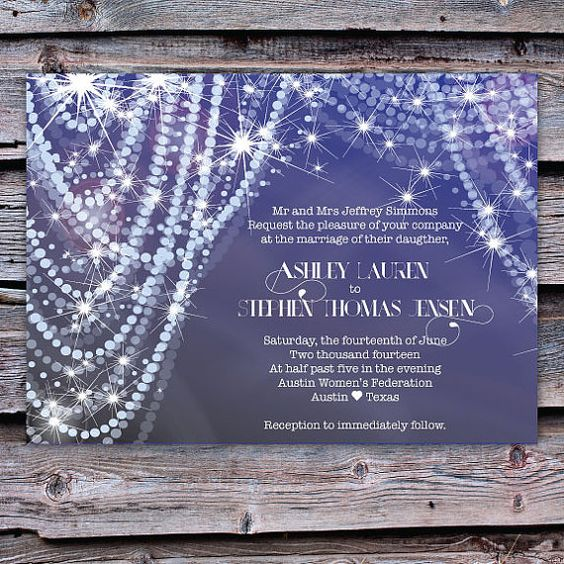 Pearls wedding and invitations on pinterest for Pearl wedding invitations