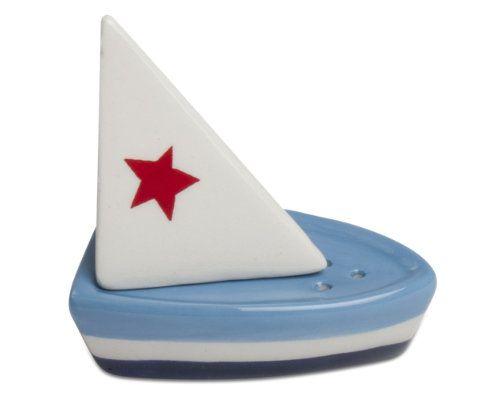 Sailboat Salt & Pepper Shakers