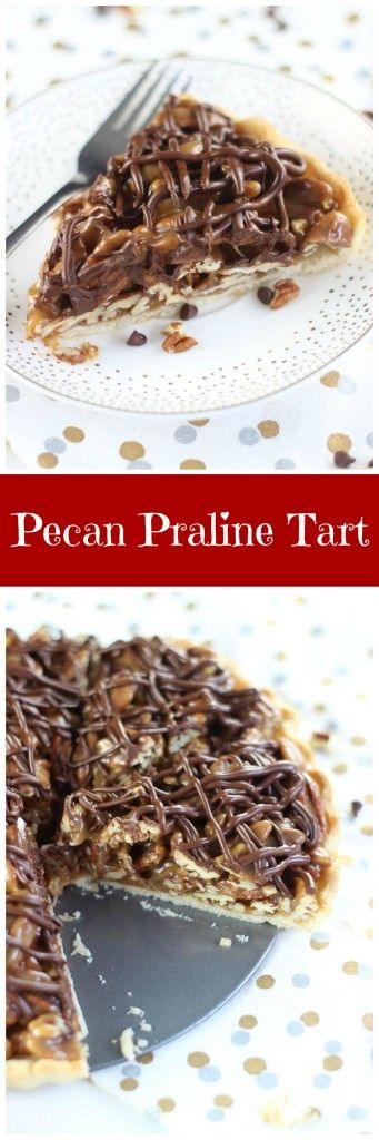 Pecan Turtle Tart | Recipe | Turtles, Tarts and Pecan pralines