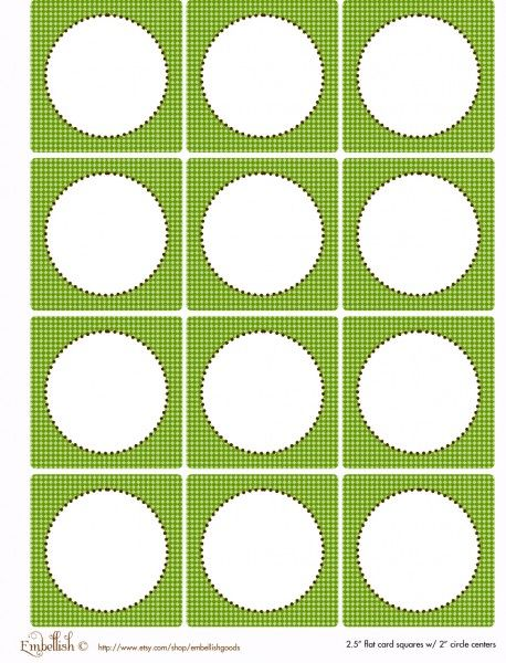 FREE Gray and Green Party Printables