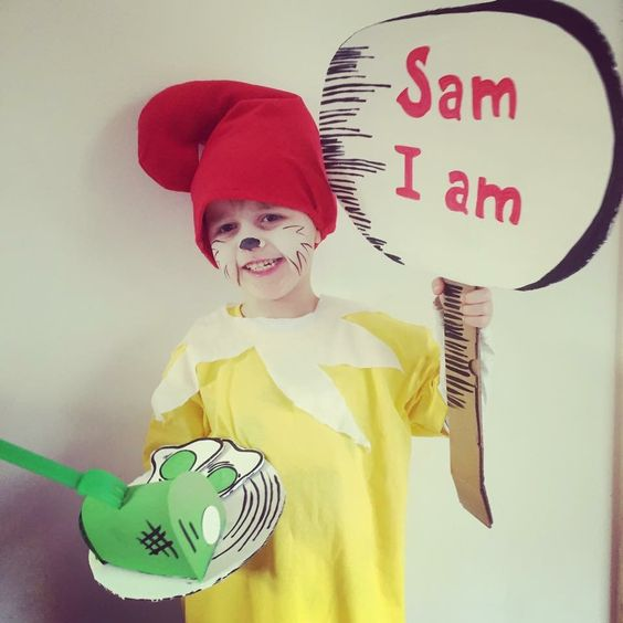 World book day sam i am