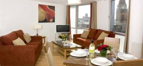 Premier Apartments Liverpool offering a two bedroom apartment (with twin beds for the children) with your own fully equipped kitchen, complimentary WiFi access and flat screen TV with a DVD player for the essential children's films – only £85.00 per night with bonus of a Family ticket for the City Sightseeing Hop on- Hop off bus for 24 hours of exploring!