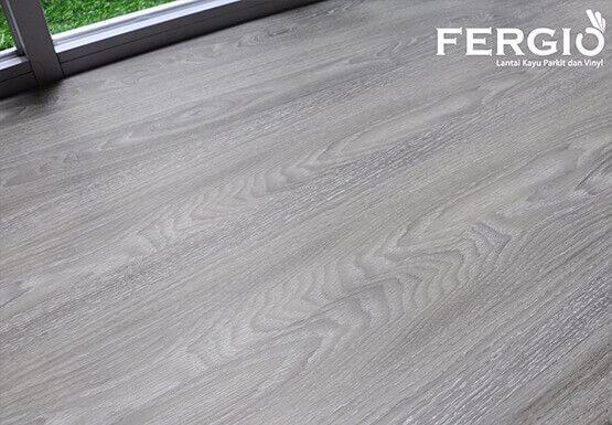 Lantai Kayu Fergio Vinyl Wood Laminate Floor Black Limba Lantai Kayu Lantai Vinyl